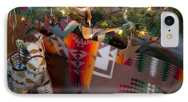 IPhone Case featuring the photograph Pendleton Christmas by Patricia Babbitt