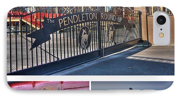 Pendleton Round-up Phone Case by David Bearden