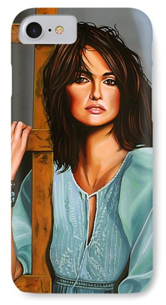 Penelope Cruz IPhone Case by Paul Meijering