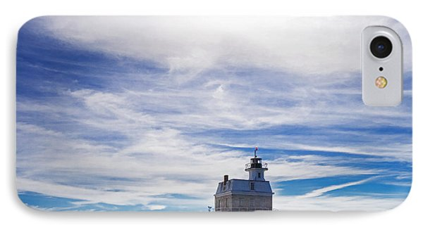 Penfield Reef Lighthouse Fairfield Connecticut Phone Case by Stephanie McDowell