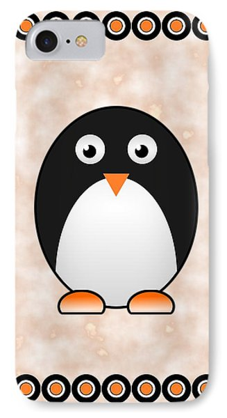 Penguin - Birds - Art For Kids IPhone Case