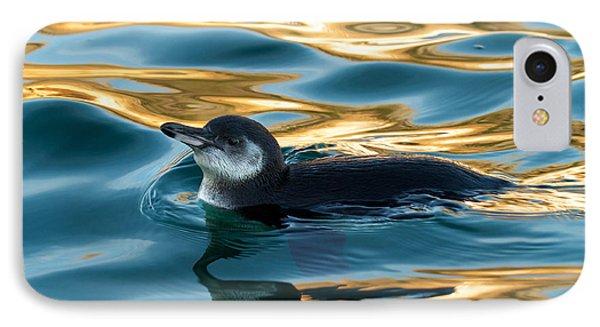 Penguin Watercolor 2 IPhone Case by David Beebe