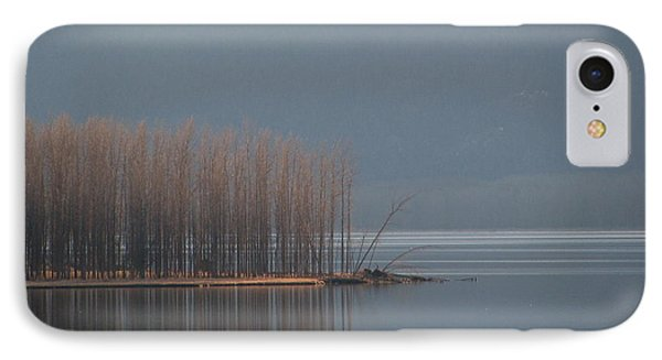 Peninsula Of Trees IPhone Case by Leone Lund