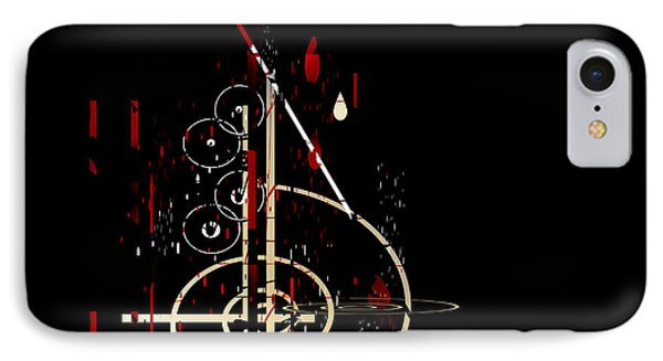 IPhone Case featuring the painting Penman Original - Untitled 96 by Andrew Penman