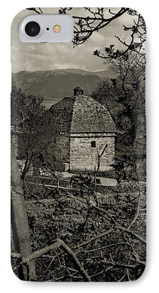 IPhone Case featuring the photograph Penmon Priory Dovecot by Nigel Fletcher-Jones