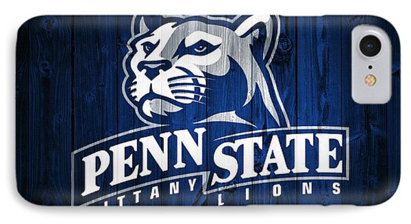 Penn State Barn Door IPhone Case by Dan Sproul