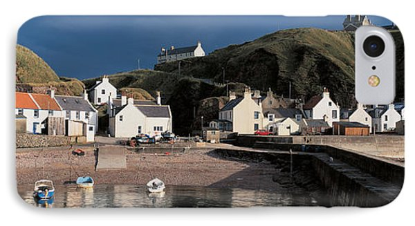 Pennan Banffshire Scotland IPhone Case by Panoramic Images