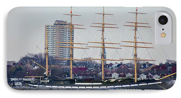 Penns Landing - The Mushulu IPhone Case by Bill Cannon