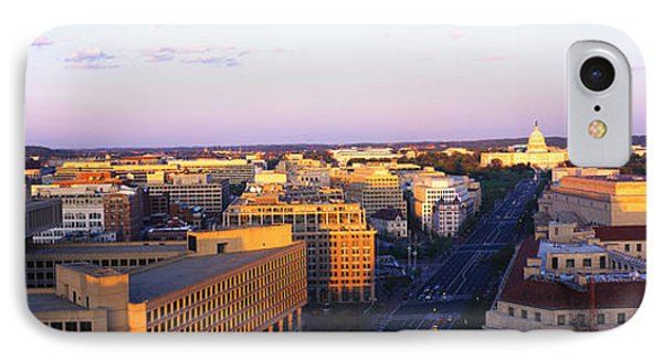 Pennsylvania Ave Washington Dc IPhone Case by Panoramic Images