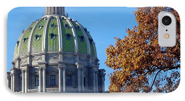 Pennsylvania Capitol Building IPhone Case by Joseph Skompski
