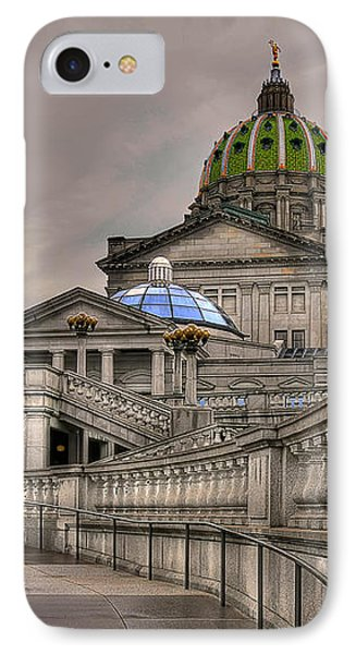 Pennsylvania State Capital Phone Case by Lois Bryan