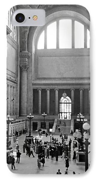 Pennsylvania Station Interior IPhone Case by Underwood Archives