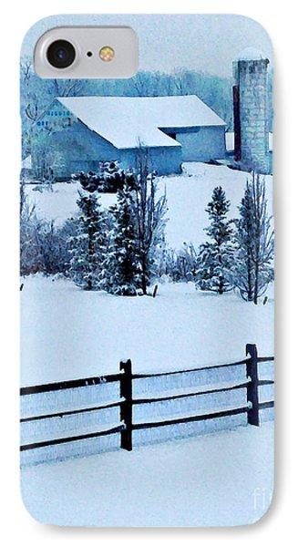 Pennsylvania Winter IPhone Case by Sarah Loft
