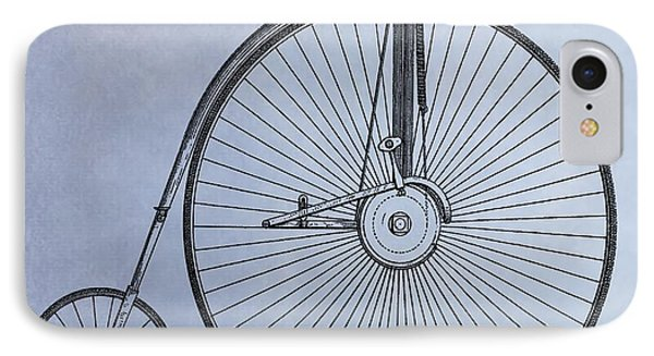 Penny Farthing Bicycle IPhone Case