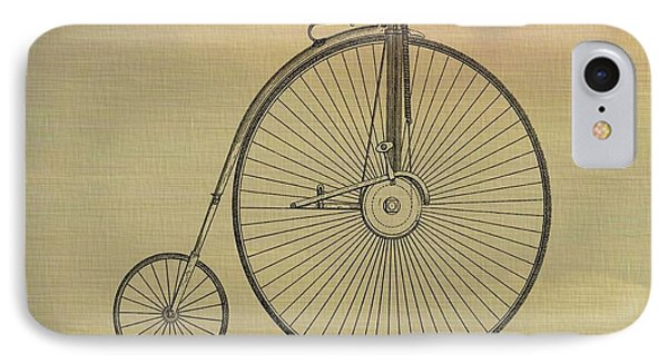 Penny Farthing Poster IPhone Case