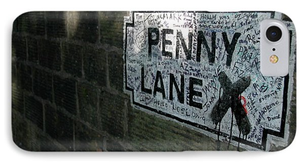 Penny Lane IPhone Case by Jonah  Anderson