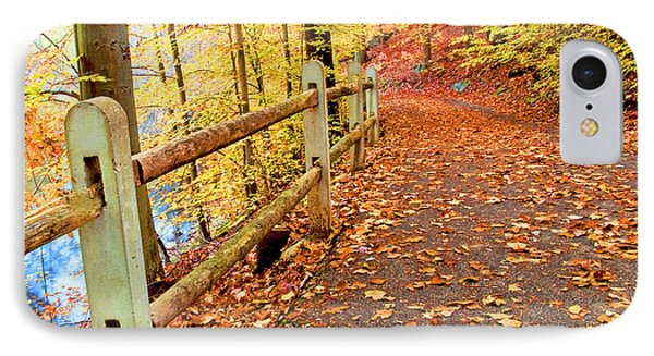 Pennypack Trail Philadelphia Fall IPhone Case by A Gurmankin