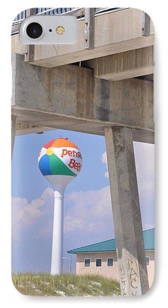 Pensacola Beach Ball And Pier IPhone Case
