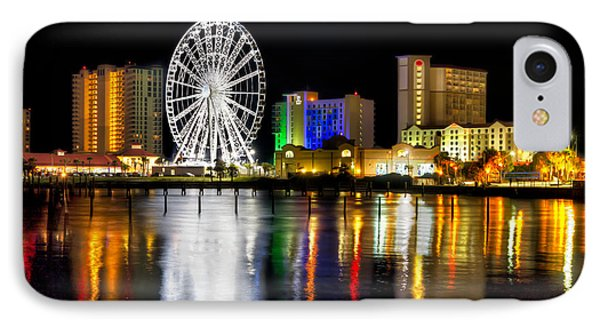 IPhone Case featuring the photograph Pensacola Beach Skyline by Tim Stanley