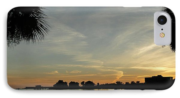 Pensacola Sunset IPhone Case by Cindy Croal