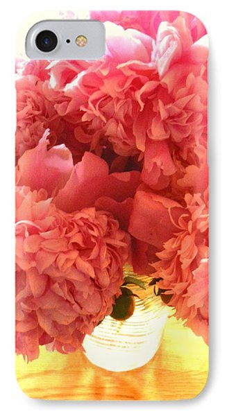 IPhone Case featuring the photograph Peonies by Karen Molenaar Terrell