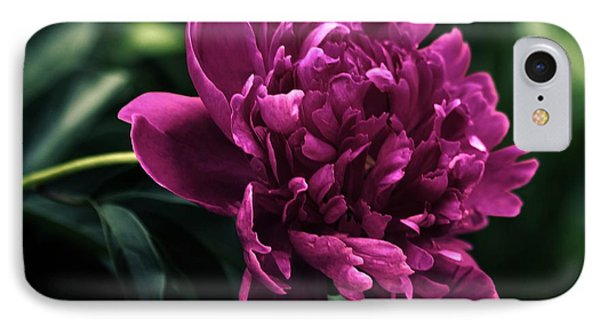 IPhone Case featuring the photograph Peony 2014 by Marjorie Imbeau