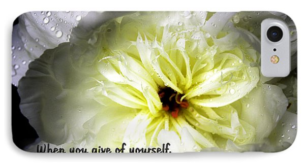 Peony After The Rain IPhone Case by Marilyn Carlyle Greiner