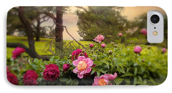 Peony Blossom IPhone Case by Jessica Jenney