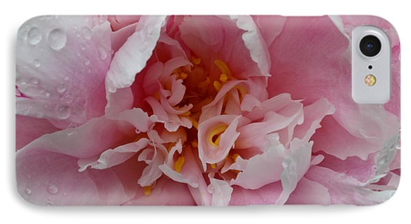Peony Love IPhone Case by Julie Andel