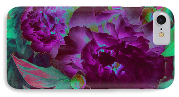 Peony Passion IPhone Case by First Star Art