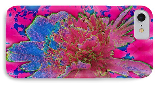 IPhone Case featuring the photograph Peony Rainbow by Margaret Newcomb