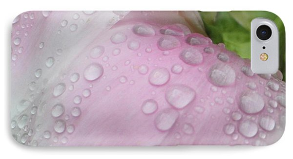 Peony Tears Phone Case by Barbara S Nickerson