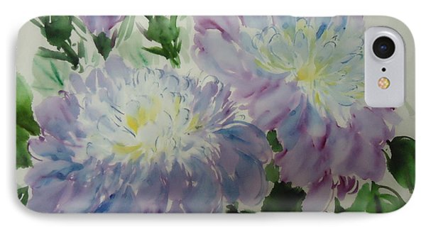 Peony10-01252012 IPhone Case by Dongling Sun
