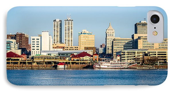 Peoria Skyline And Downtown City Buildings Phone Case by Paul Velgos