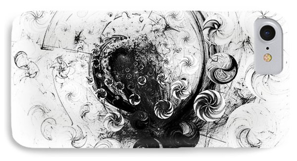 IPhone Case featuring the digital art Peppermint Dream 1 by Arlene Sundby