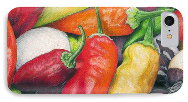 Peppers And Onions IPhone Case