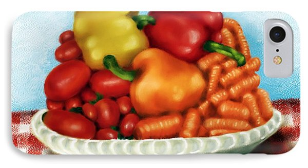 Peppers And Such IPhone Case by Ric Darrell