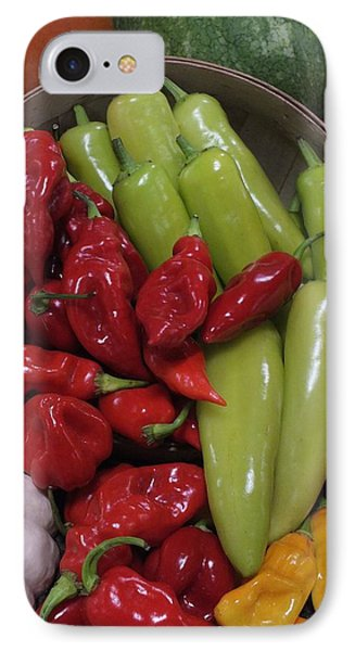Peppers Etc. Phone Case by Christina Shaskus