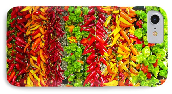 IPhone Case featuring the photograph Peppers For Sale by Mike Ste Marie