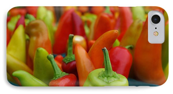 IPhone Case featuring the photograph Peppers Peppers And More Peppers by John S