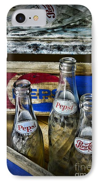 Pepsi Bottles And Crates IPhone Case by Paul Ward