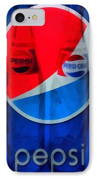 Pepsi Cola Phone Case by Dan Sproul