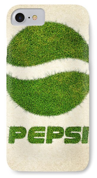 Pepsi Grass Logo IPhone Case