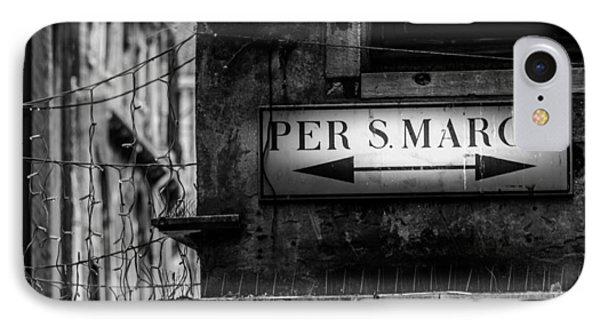 Per S. Marco Venice Phone Case by Colin Utz