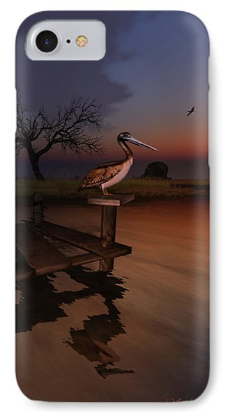 IPhone Case featuring the digital art Perch With A View by Kylie Sabra