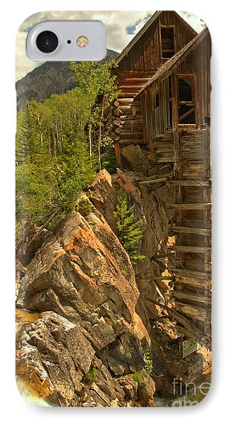 Perched On The Edge Phone Case by Adam Jewell
