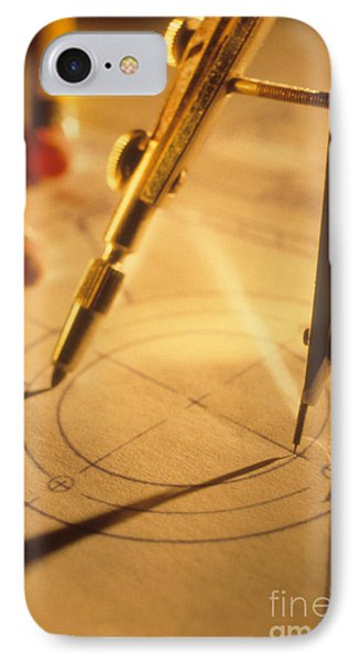 Perfect Circle Phone Case by Novastock