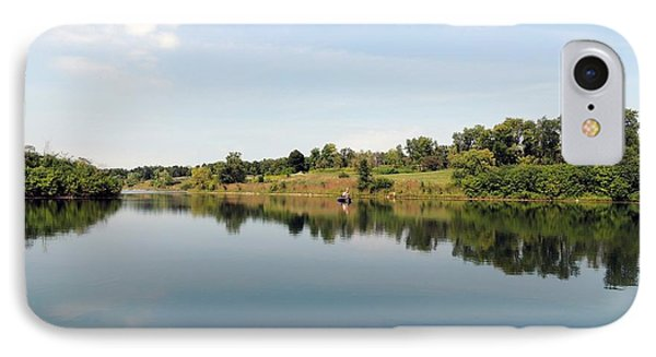 IPhone Case featuring the photograph Perfect Day On The Lake by Teresa Schomig