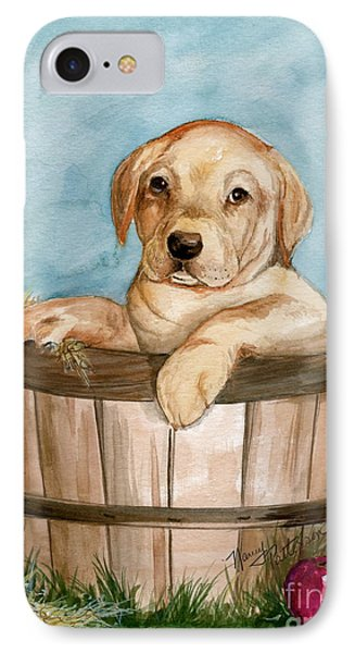 IPhone Case featuring the painting Perfect Fit by Nancy Patterson