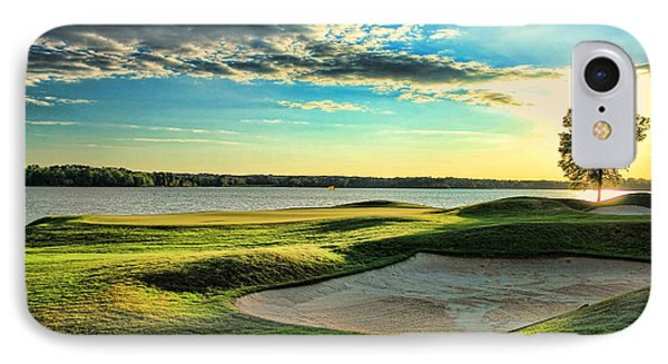 Perfect Golf Sunset IPhone Case by Reid Callaway
